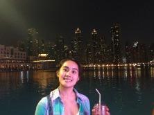 Little bit of skyline from the Dubai Mall